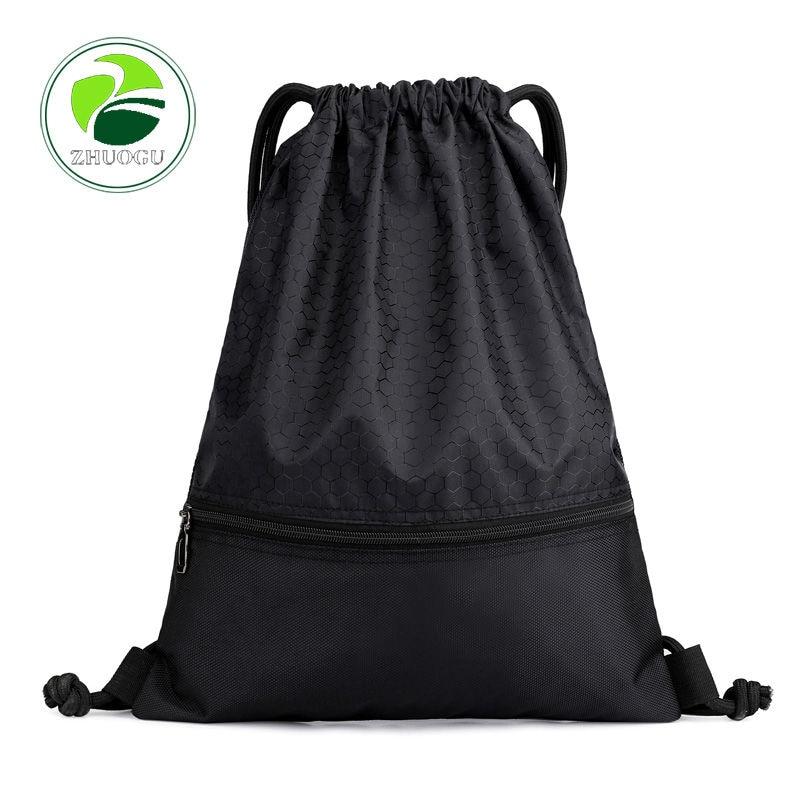 SchoolBag Drawstring Backpack For Teenage Women Waterproof Drawstring Bag Packing Cubes Large Capacity Mochila Sports Backpack