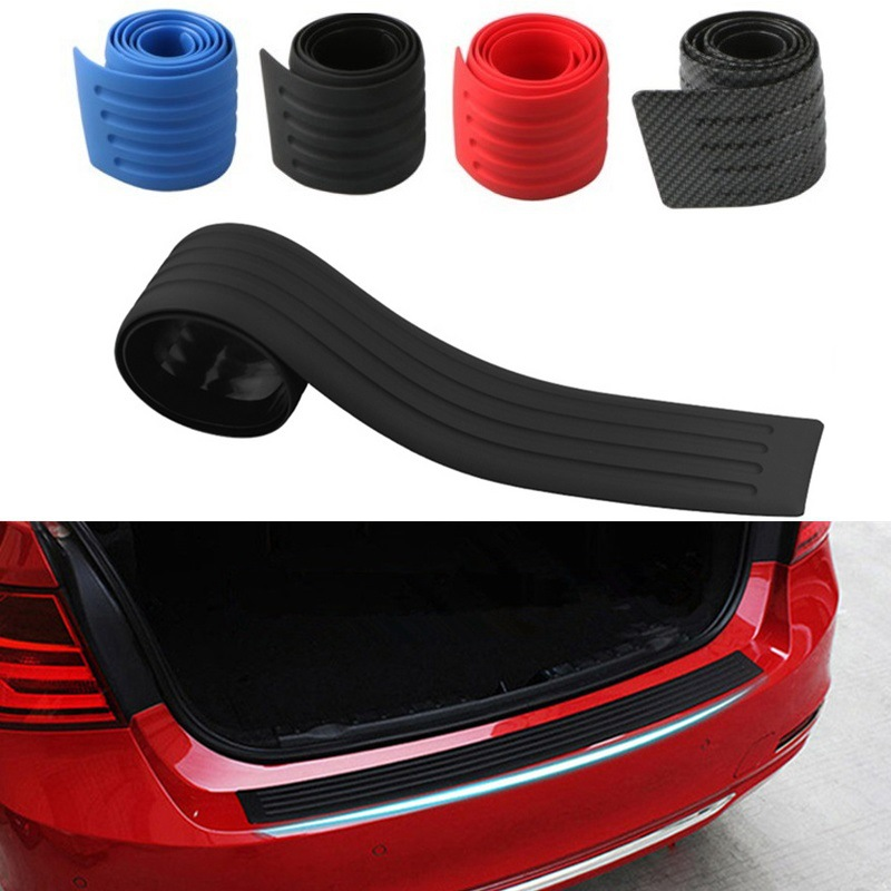 For Dodge Journey 2013-2019  Steel Outer Rear Bumper Protector Plate Cover Trim