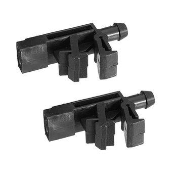 2 sztuk przednia szyba podkładka dysza rozpylająca pasuje do Peugeot 406 605 OE #6438 89 6438 Y4UA tanie i dobre opinie CVBNVN CN (pochodzenie) plastic Y4UA7HH1501299