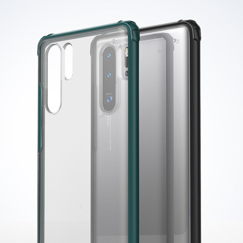 Zachte TPU Shockproof Case Voor Huawei P30 Pro P30 Lite Beschermhoes Voor Huawei p30 Lite volledige beschermhoes - 2