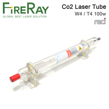 FireRay Reci W4 T4 100W Co2 Laser Tube Dia. 80mm 65mm Length 1400mm for Co2 Laser Engraving Cutting Machine S4 Z4 fireray reci w2 t2 90w 100w co2 laser tube dia 80mm 65mm power supply 100w for co2 laser engraving cutting machine