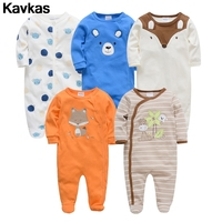 Kavkas 2019 cotten 5pcs ready stockquality newborn baby clothing romper boy0 12m premium quality newborn baby