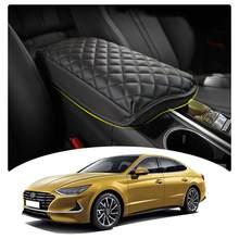 LFOTPP-compartimento de reposabrazos para coche, cubierta para Sonata DN8 2020, reposabrazos de Control Central, contenedor, almohadilla, accesorios de dedicatoria Interior automática