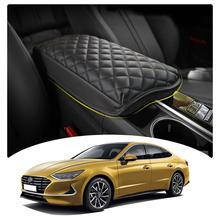 LFOTPP compartimento de reposabrazos para coche, cubierta para Sonata DN8 2020, reposabrazos de Control Central, contenedor, almohadilla, accesorios de dedicatoria Interior automática