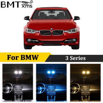 BMTxms Canbus Car LED Interior Light Kit For BMW E36 E46 E90 E91 E92 E93 M3 1990-2013 Error Free Auto Lamp Bulbs Accessories image
