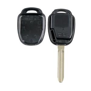 Image 4 - Yetaha 4 Buttons Remote Smart Key For Toyota Rav4 Highlander 2014 2015 2016 GQ4 52T 315MHz Remtekey With Chip/Battery