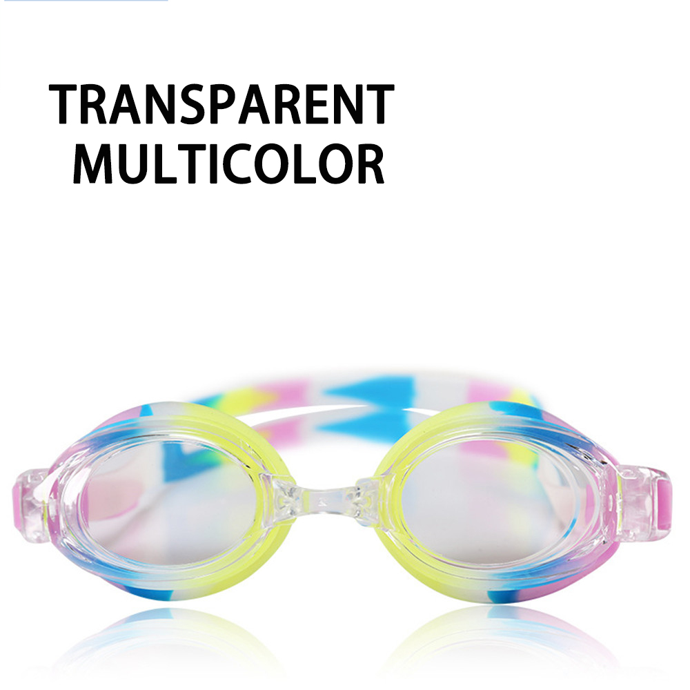 Оптическая близорукость плавательные очки 200-800 градусов Силиконовые противотуманные водная диоптрия плавательные очки для мужчин и женщин очки по рецепту - Цвет: multicolor