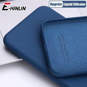 Перейти на Алиэкспресс и купить Мягкий тонкий жидкий силиконовый чехол для телефона vivo iQOO 3 Z1 Neo3 Neo NEX 3S 3 X30 S1 Pro Global 5G оригинальный полный защитный чехол