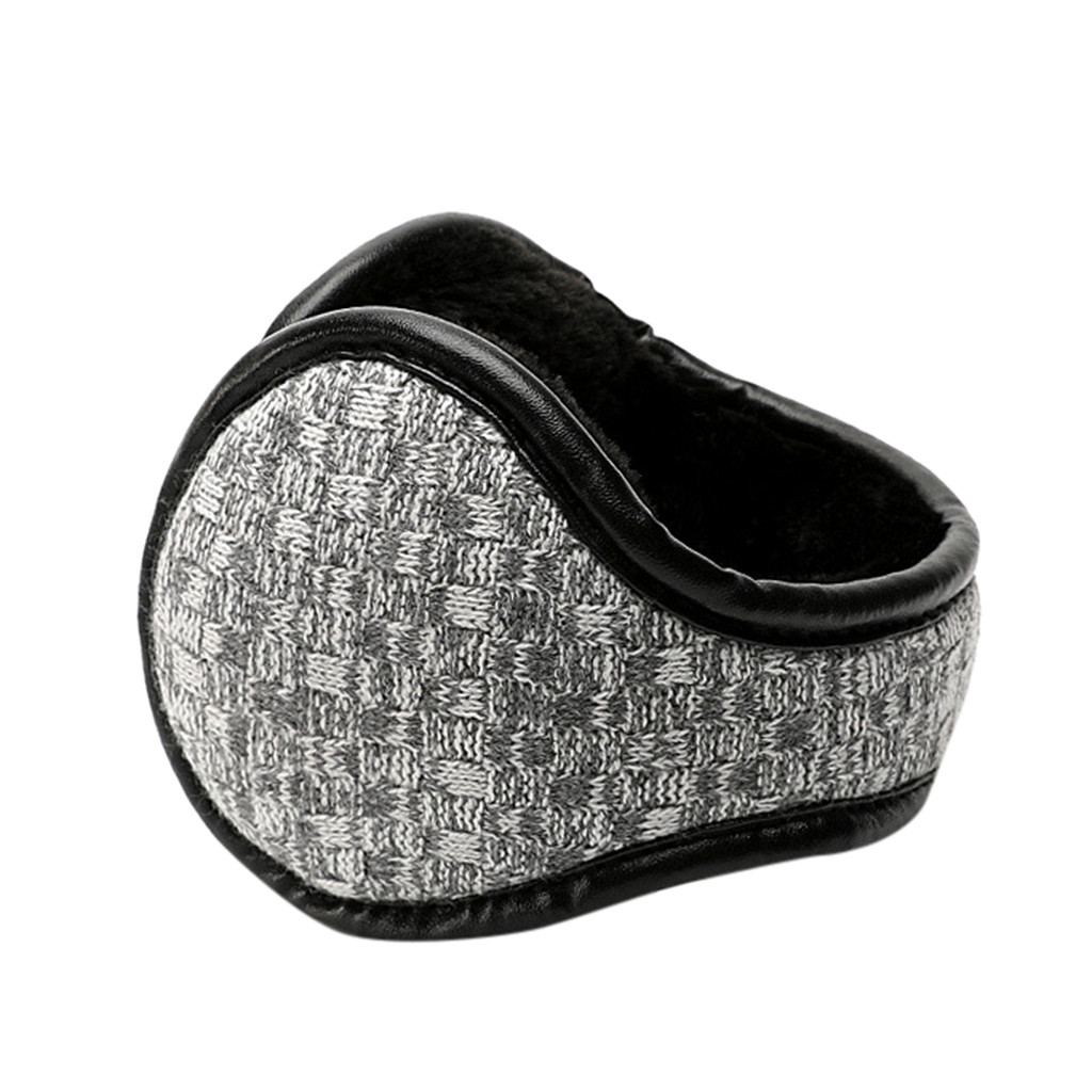 2019 Earmuffs Winter Casual Warm Thicken Ear Muffs Unisex Foldable Plush Soft Riding Student Windproof Earmuffs Warm Gift