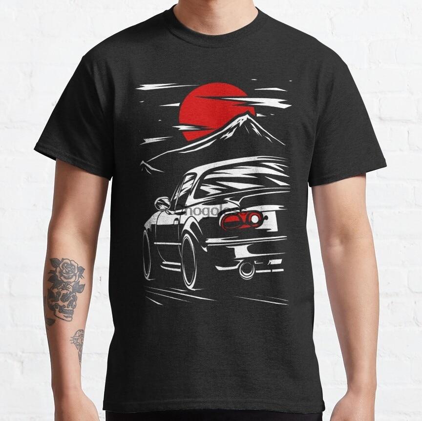 Мужская футболка Mazda MX 5 Miata wo, Мужская футболка