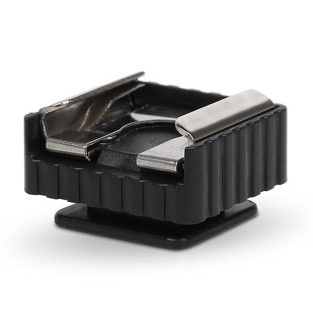 3 قطعة المهنية العالمي تصاعد الاكسسوارات المعدنية التصوير فلاش قوس الحامل ثلاثي الأرجل فلاش كاميرا استخدام الحذاء الساخن محول