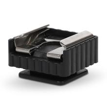 3pcs Professionale Universale Di Montaggio In Metallo Accessori Fotografia Flash Staffa Treppiedi Del Supporto Della Macchina Fotografica Luso del Flash Hot Shoe Adapter