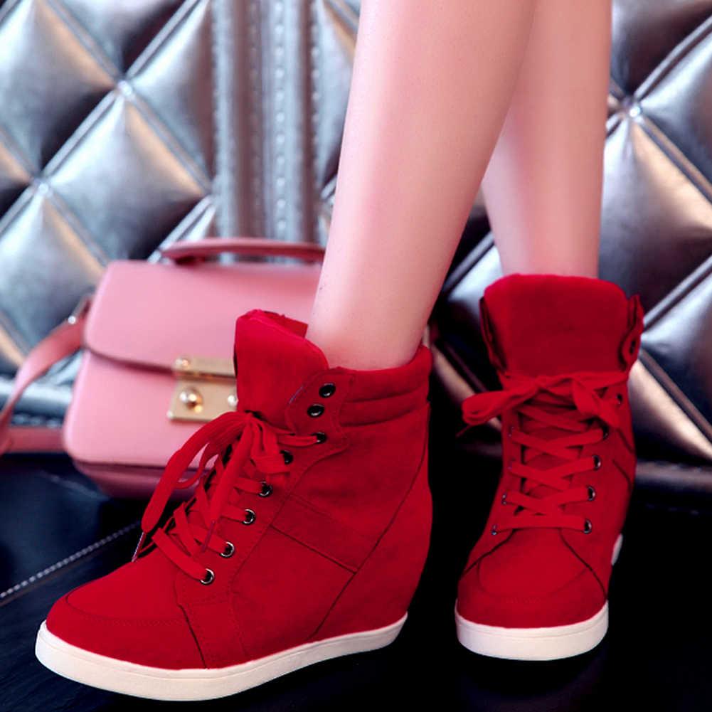 Karinluna moda 2020 kadın ayakkabıları kadın ayakabı bahar sonbahar içinde yüksek topuklu rahat yarım çizmeler