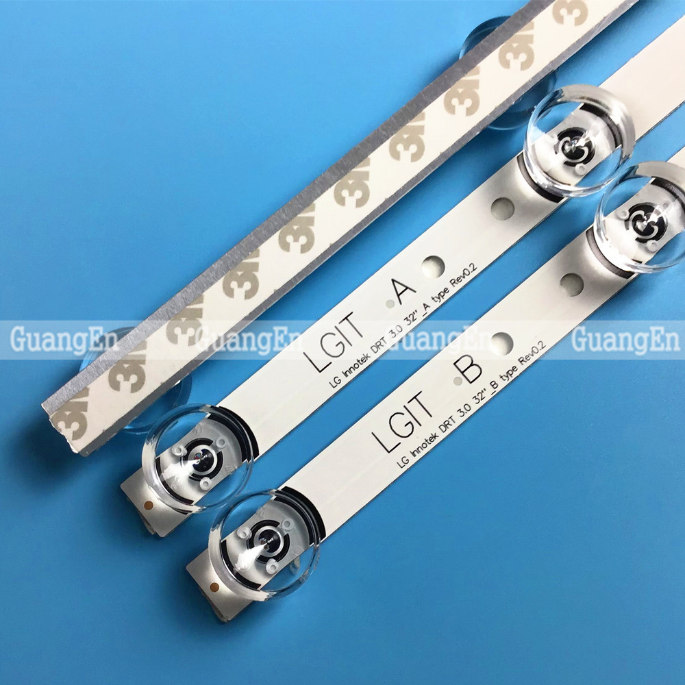 10 Set LED Backlight Strip For LG 32