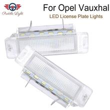 цена на For Opel Astra F 1992-1998 Vauxhall Astra F Calibra ASTRA MK Canbus Car Led License Plate Lights