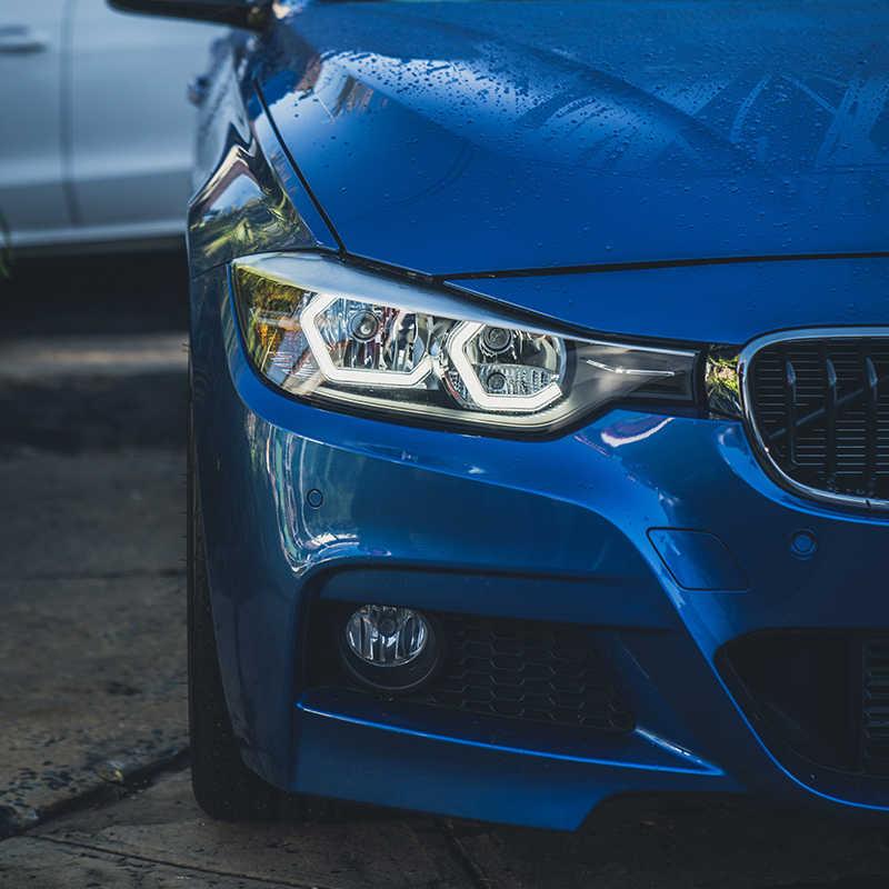 Wifi RGB многоцветный M4 Знаковый стиль светодиодный Кристалл глаза ангела комплекты света для BMW M3 F80 M4 F82 стайлинга автомобилей