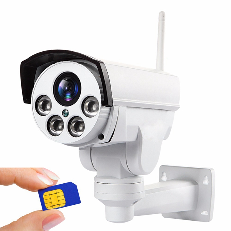 4G PTZ camera 5X 10X Optical Zoom 5mp IP CAM CCTV signal Network Industry engineering Factory shop Source customized wholesale