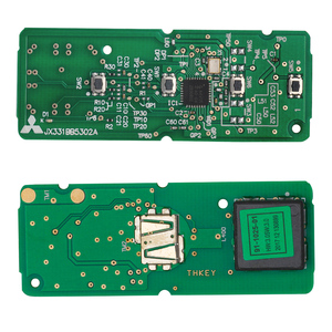 Image 4 - KEYECU استبدال مفتاح بعيد فوب 4 زر FSK 315MHz ID49 M ميتسوبيشي نظام لمازدا 3 6 مياتا 2013 2016 FCC ID: SKE13D01