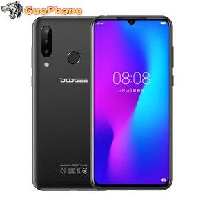"""Image 1 - Doogee N20スマートフォン6.3 """"4ギガバイトのram 64ギガバイトrom指紋16MPトリプルバックカメラMT6763オクタコア4350 2600mah 4 4g lte携帯電話"""