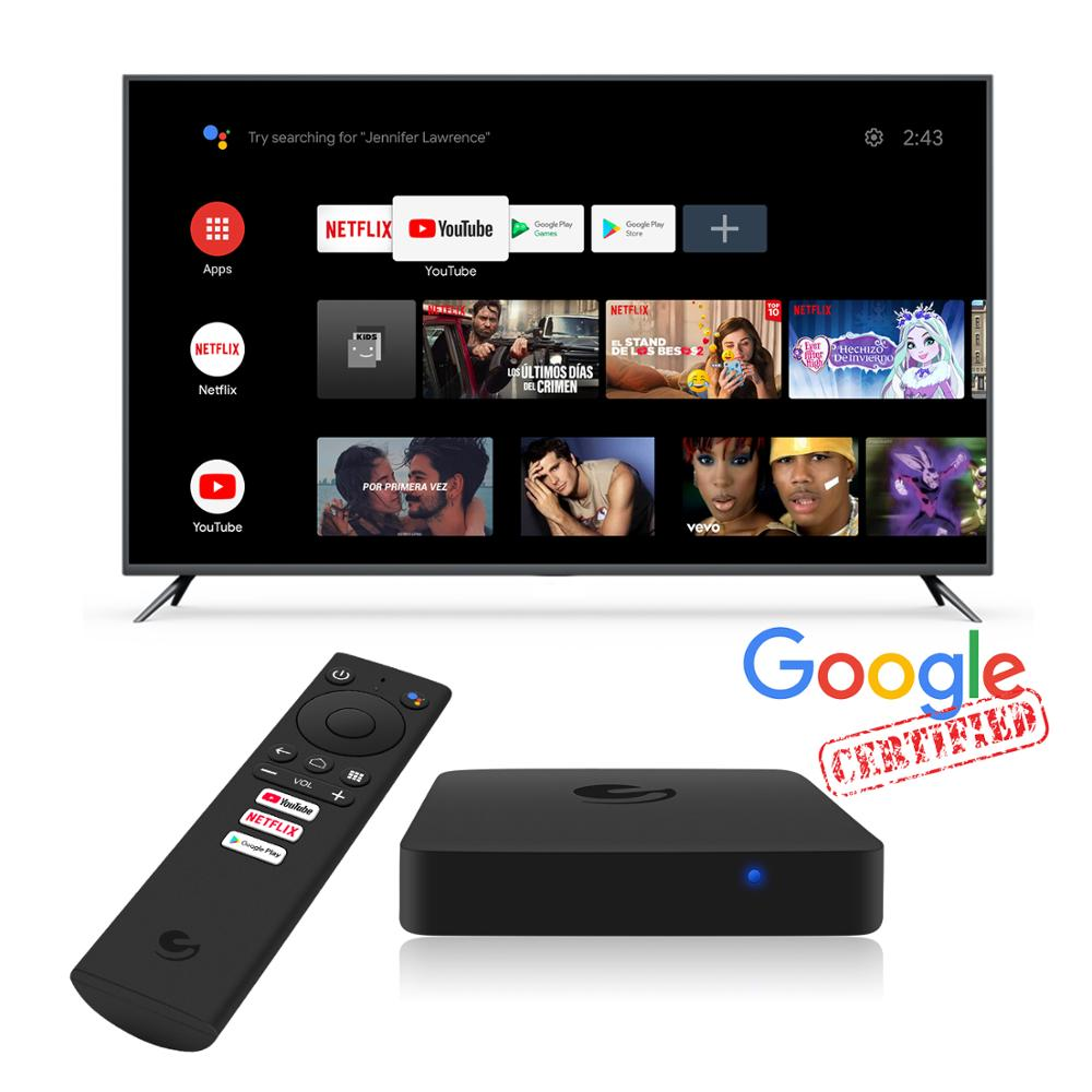 UBISHENG Android TV Box Internet Tvbox S905w Android 9.1 4k Smart Ott Tv Box|