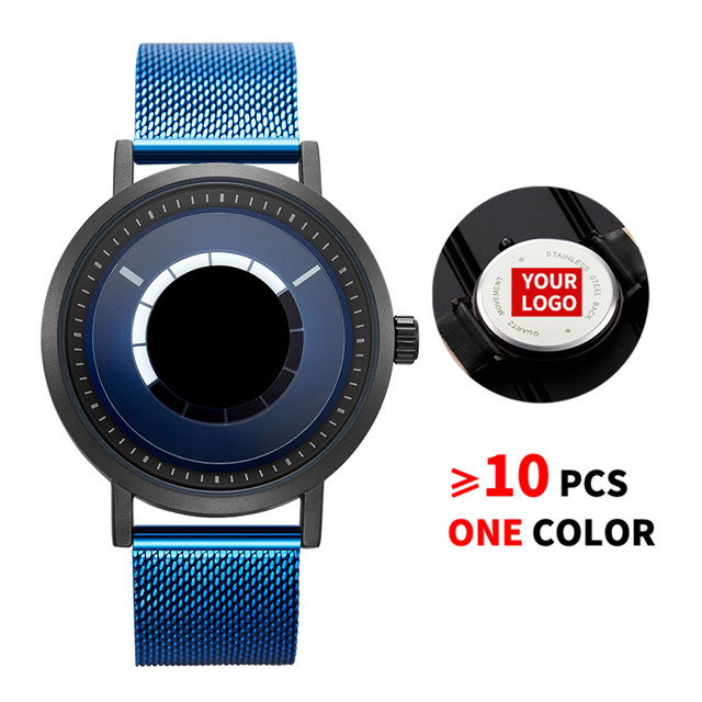 10PCS/Lot SINOBI 9800 Free Customized LOGO Men Watch Creative Watch Men Steel Mesh Quartz Wristwatches Custom Watches Best Gift
