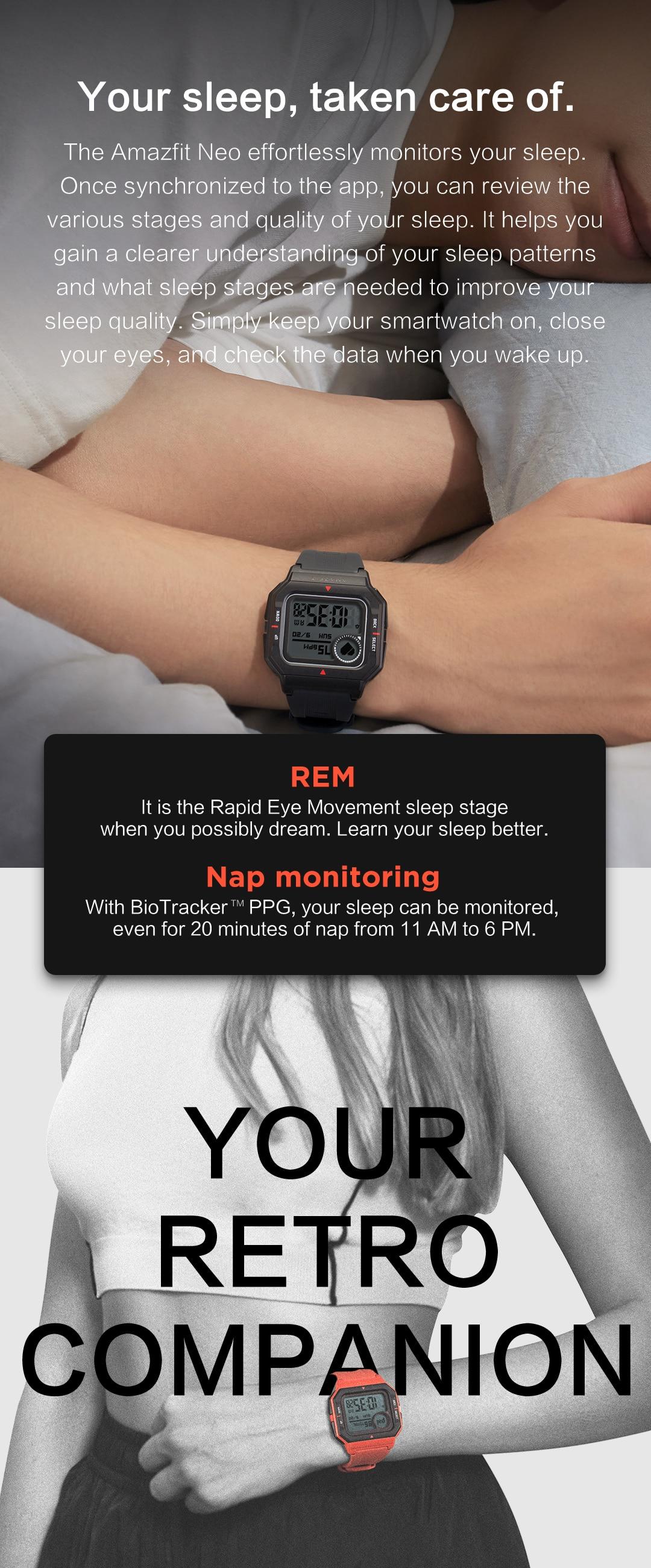 Amazfit Neo Bluetooth Smartwatch 6