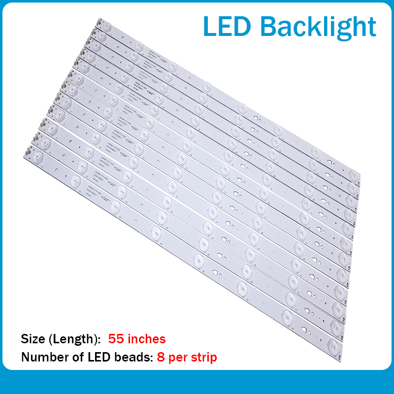 LED Backlight Strip 7leds For Haier LE55A7100L LE55B510N/LE55B510X 30355007202 LED55D7-01A/B