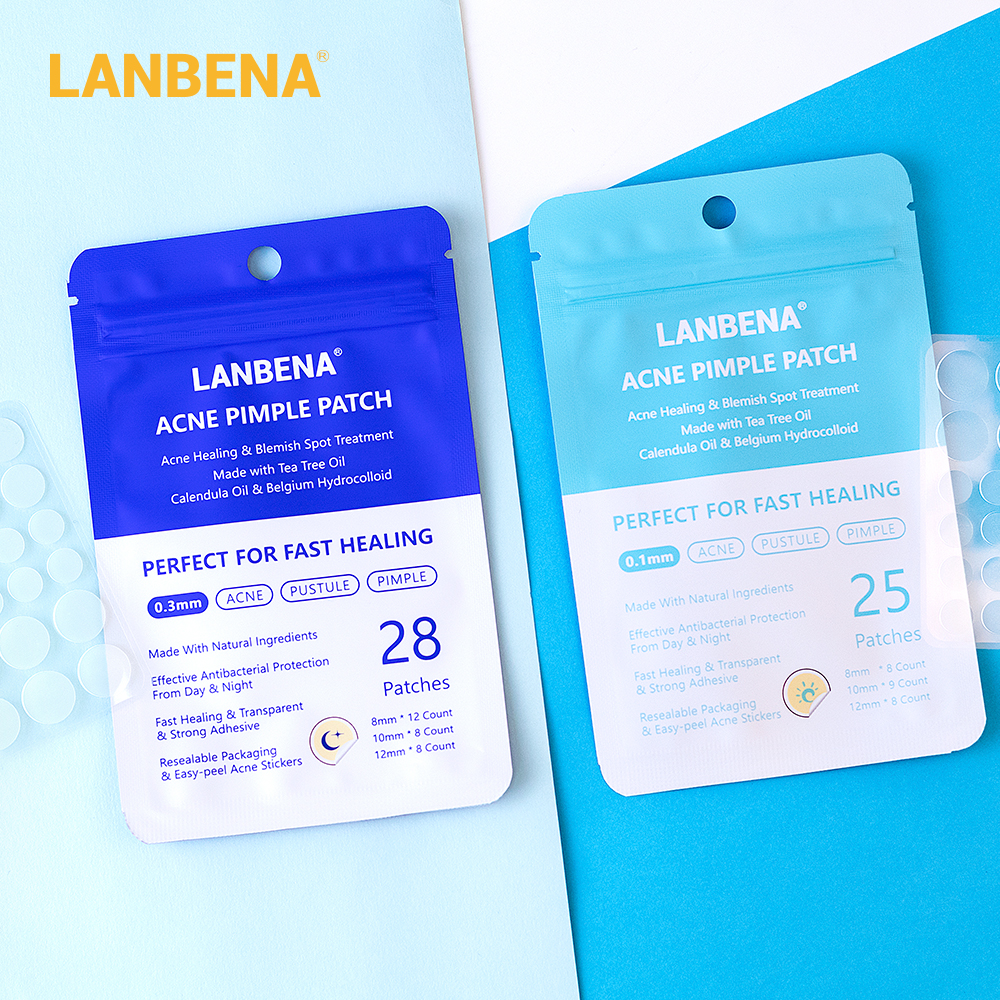 LANBENA Acne Treatment Face Mask Skin Care Facial Masks Face Cream Face Cleaner Tool Acne Pimple Patches Stickers Acne Remover
