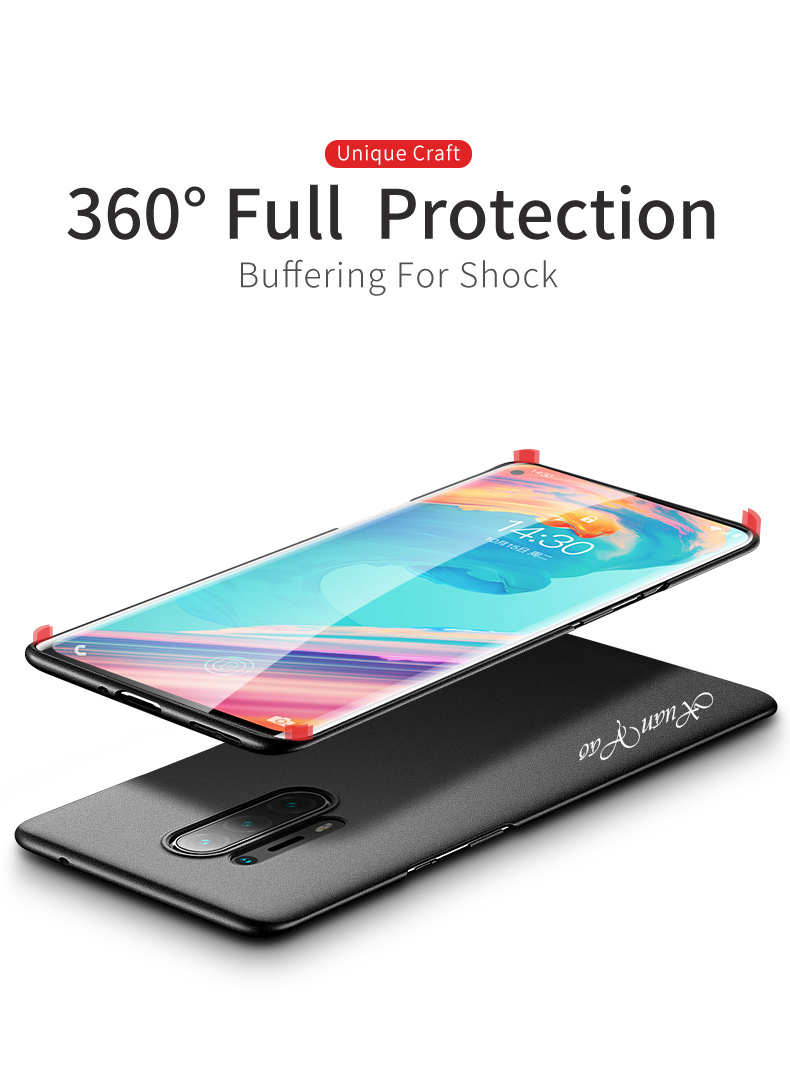 XUANYAO Luxury Cover For OnePlus 8 Pro Case Matte Slim Cover For OnePlus 8 Case Frosted Hard Back Cover One Plus 8 Pro 1+8 Pro (9)