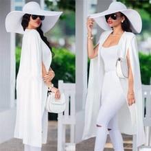 Women long suit blazer office lady coat solid long sleeves c