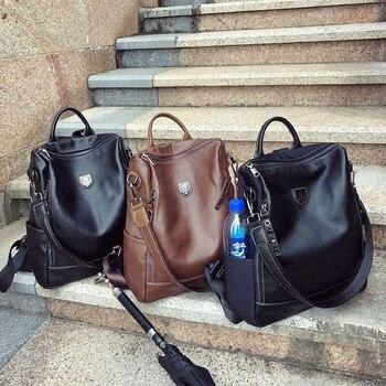 New casual school bag shoulder bag dual purpose backpack