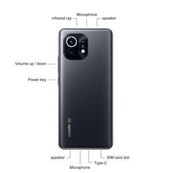 Смартфон Xiaomi Mi 11 глобальная версия, 8 ГБ ОЗУ 256 Гб ПЗУ 3