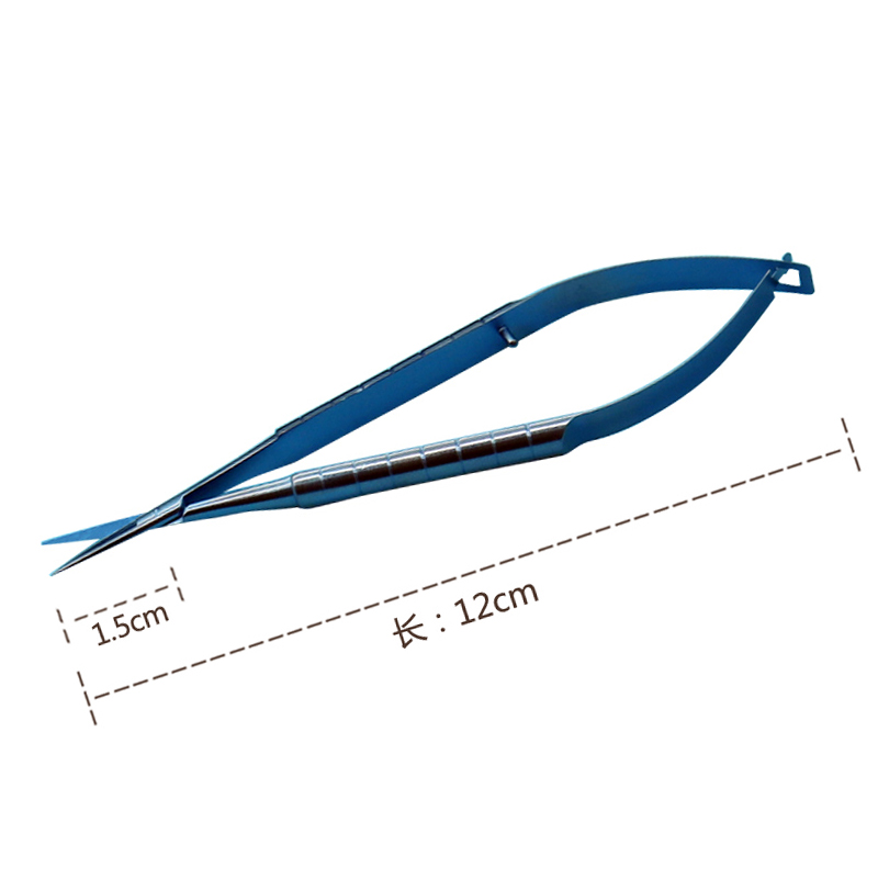 Microscopic Scissors Forcep Probe Micro Hook Tweezer Spatula 12cm Stainless Steel Probes,Hooks ,Spatulas, Speculums tweezers