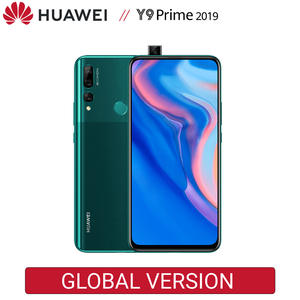 HUAWEI Y9 Prime 2019 4GB 128GB smartphone Global Version 4000mAh battery 6.59 inch 16MP Auto pop up AI camera