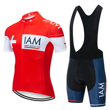 цена на new IAm Cycling Set 2019 Cycling Jersey Summer Team Short Sleeves Bike Clothing Ropa Ciclismo Cycling Clothing Sports Suit