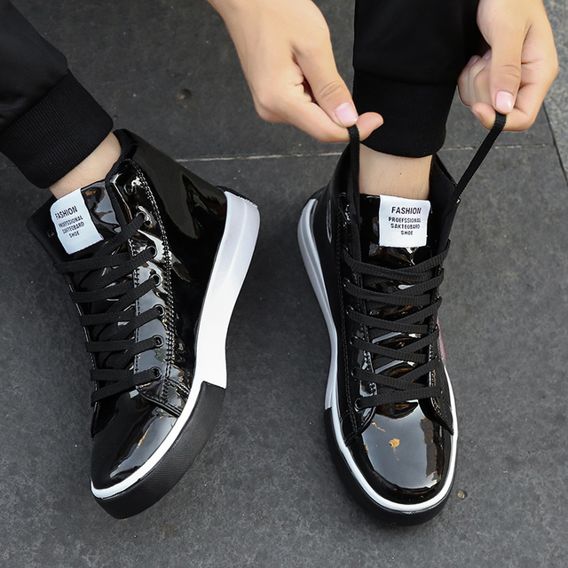 Vulcanized Silver Street Shoes 10
