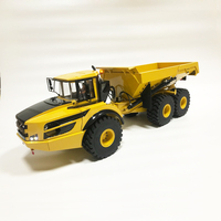 1:14 Articulated Truck Model Metal Hydraulic Model Birthday Gift