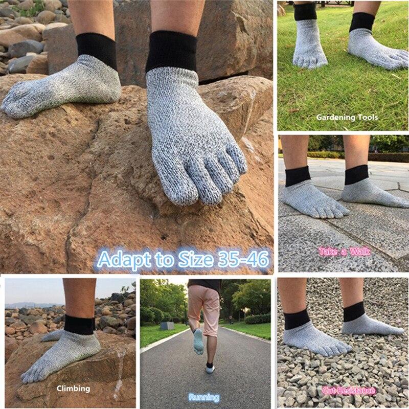 meias de yoga caminhadas correndo escalada descalço