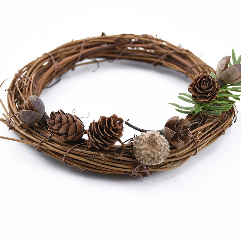20pcs Natural Dried flowers Pine cone Acorn wholesale Artificial Flower For Home Christmas DIY Garland Wreath wedding Decoration 3