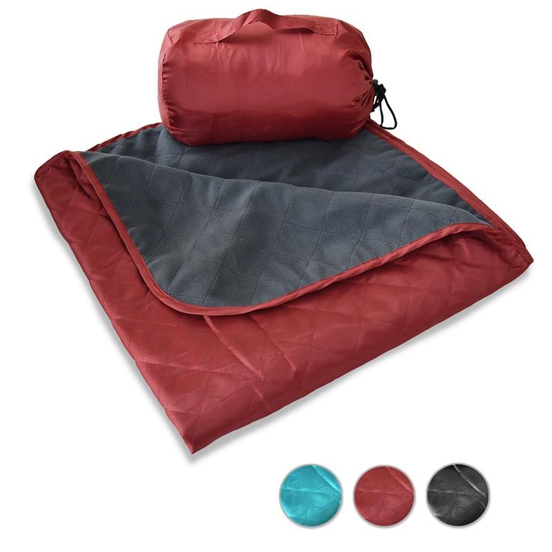 Blanket, Fleece Camp Blanket, Outdoor Stadium Rainproof and Windproof, Picnic Blanket, Outdoor Mat, Camping Blanket Fleece