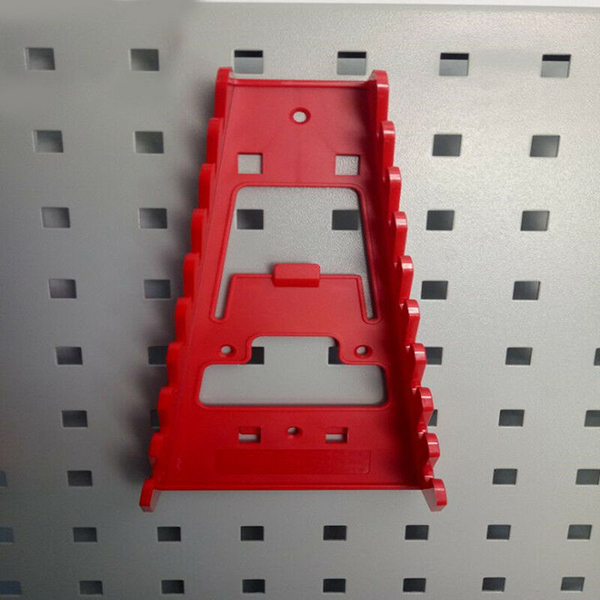 Hot Durable Multi Slots Spanner Storage Rack Wrench Holder Rail Tray Spanners Organizer Tool L99