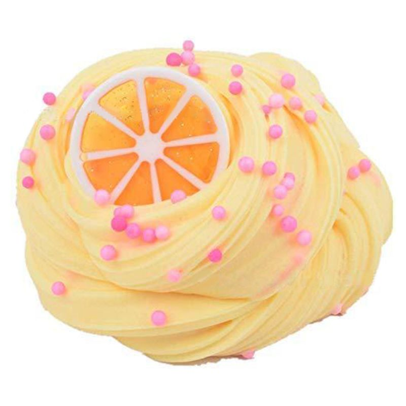 4Pc Lemon Slime Coffee Slime Watermelon Slime Non-Sticky Slime Stress Relief Toy F3ME enlarge
