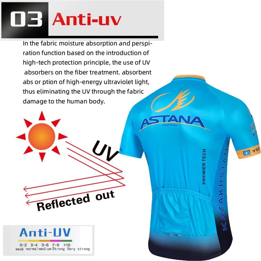 Astana summer Bicycle Cycling Clothing