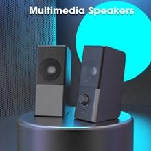 PC Speaker Desktop Computer Speakers for Home Theater System USB Column Surround Sound Box Mini Subwoofer Caixa De Som Original