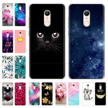Phone Case For Xiaomi Redmi 5 / 5 Plus Case Cute Cartoon Soft Silicone TPU Back Cover For Xiaomi Redmi 5 Plus Cases Coque Fundas xiaomi redmi s2 case cover transparent ultra thin soft silicone silm plating edge tpu back cover for xiaomi redmis2 phone coque