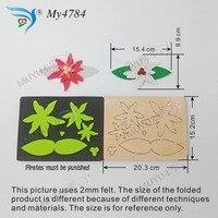 Decoração do natal flowerDIY muyu MY4784 cortando new mould matrizes de corte de madeira para scrapbooking