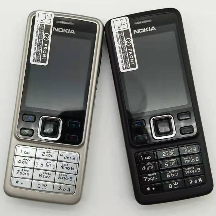 Original Nokia 6300 Unlocked Mobile Phone Tri-Band Multi-language Russian And Arabic Language And Keyboard