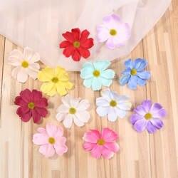 DIY 7 см имитация цветов цвет каллиопсис искусственный цветок голова сырой шелк цветок одежда аксессуар, шляпа аксессуары для обуви домашний