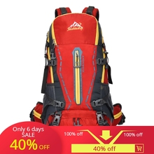 outdoor professional brand mountaineering bag hiking camping bag men and women large-capacity backpack цены