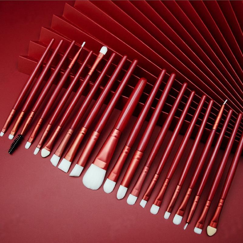 20/5Pcs Makeup Brushes Set Eye Shadow Foundation Powder Eyeliner Eyelash Lip Make Up Brush Cosmetic Beauty Tool Kit Hot